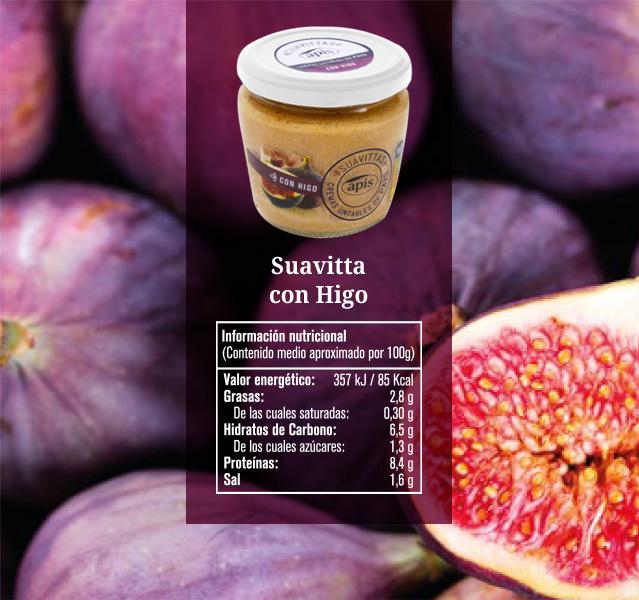 Crema untable suavittas con higo