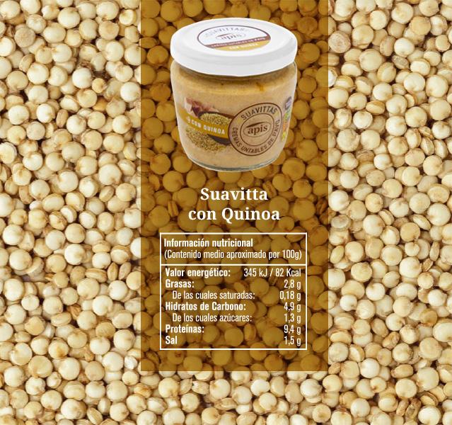 crema untable suavitta con Quinoa