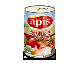 tomate natural con cebolla