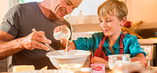Receta de Huevos rellenos con crema de Apis