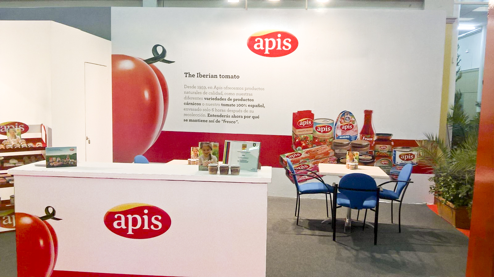 Stand Agroexpo The iberian tomato