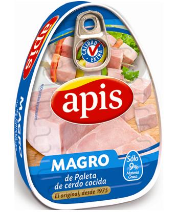 Magro de paleta de cerdo cocida Apis