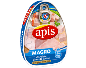 Magro de paleta cocida de cerdo Apis