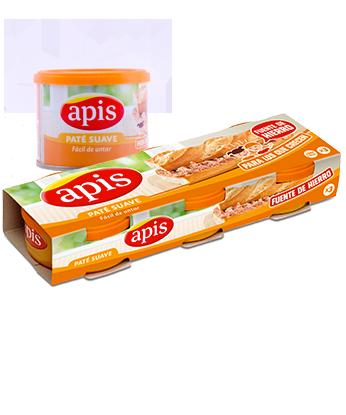 Paté suave Apis
