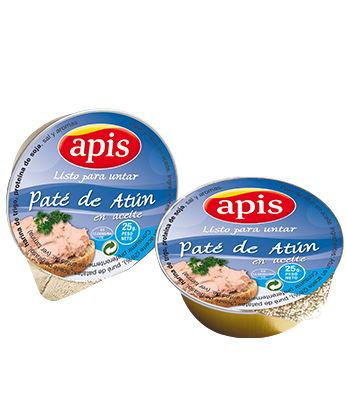 Minidósis Paté de atún Apis