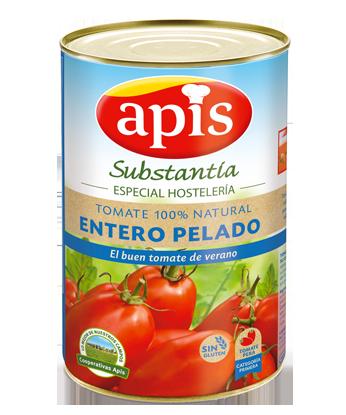 tomate natural entero pelado especial horeca