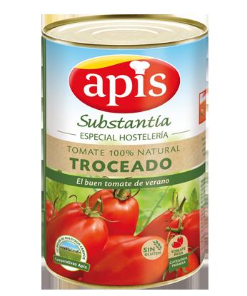 tomate 100% natural troceado especial hostelería