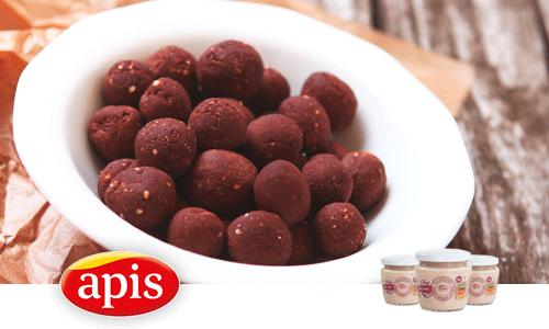 Bombones de chocolate con crema de pavo con higos Suavittas de APIS.