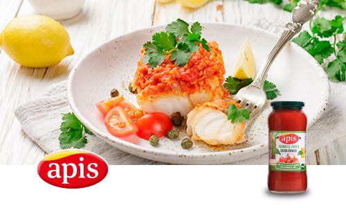 Merluza con tomate Apis