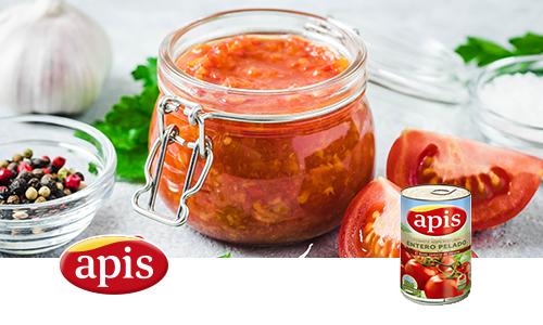 Mermelada de tomate con tomate entero Apis