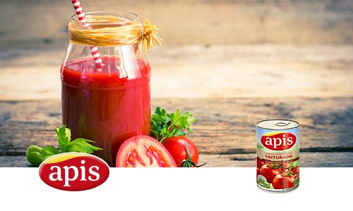 Zumo de tomate Apis